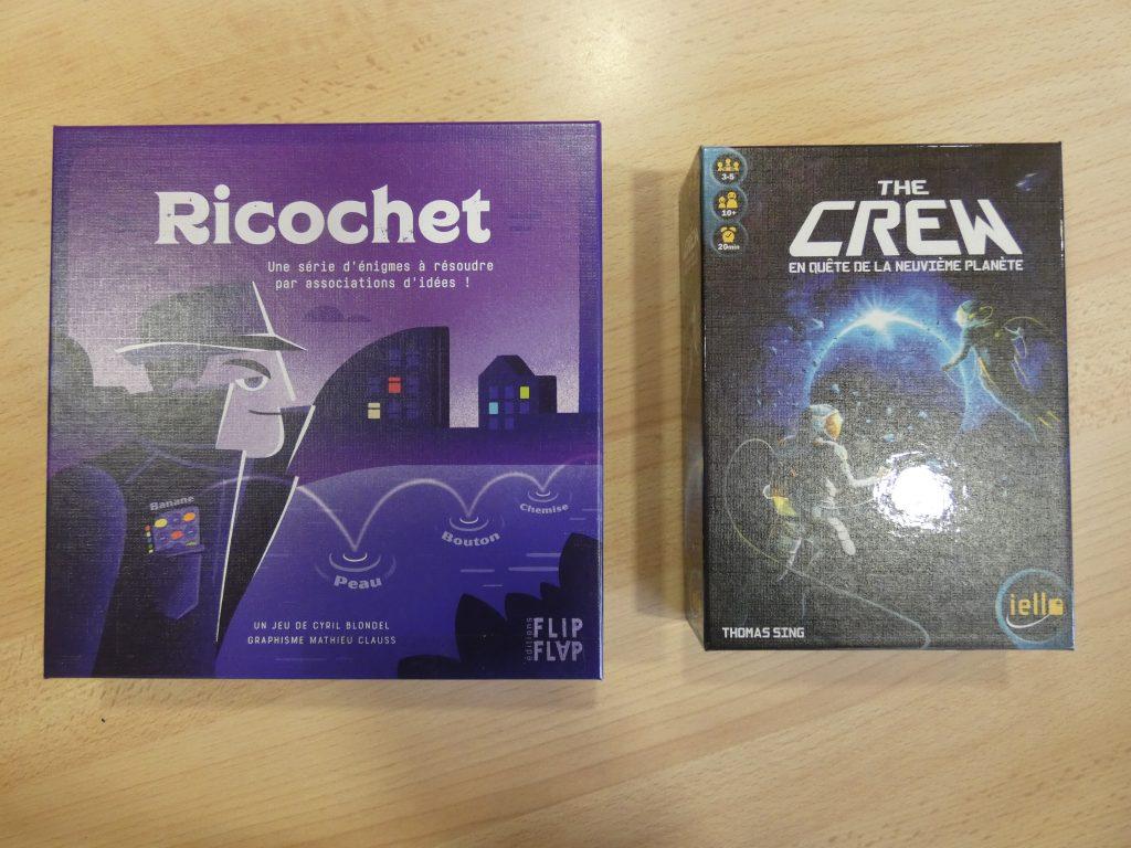 Ricochet et The Crew